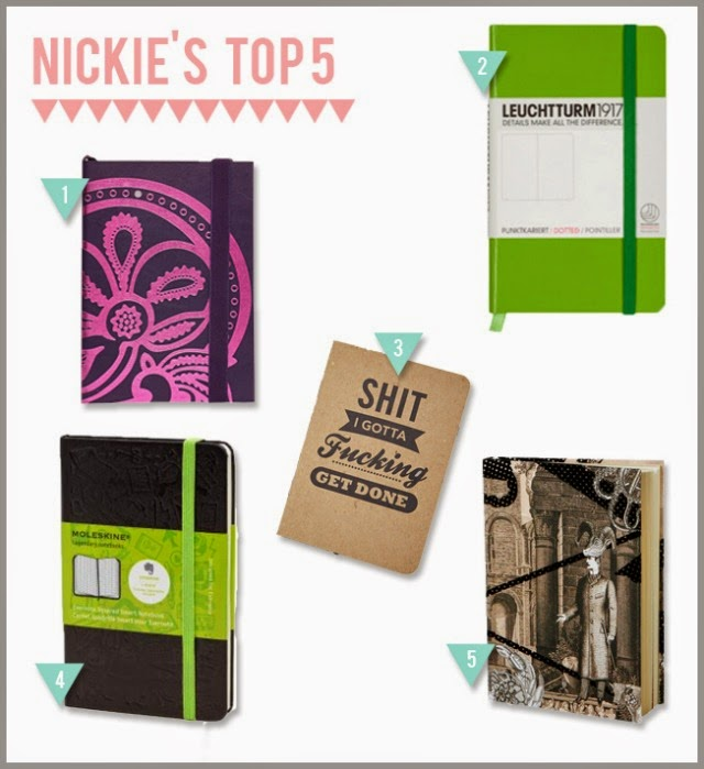 Top 5 notebooks Nickie