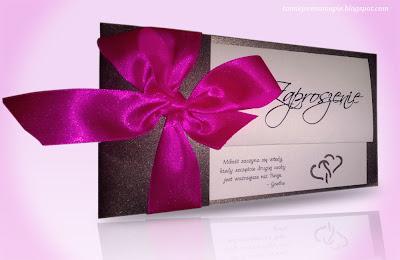 zaproszenie, zaproszenie ślubne, ręcznie robione zaproszenie ślubne, zaproszenie DIY