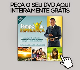 DVD Grátis- Tempo de Esperança