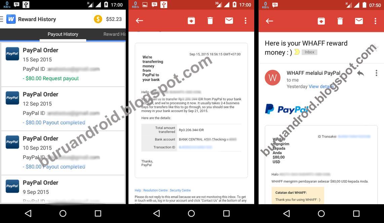 Trik Cara Mengisi Saldo Paypal Gratis Hanya Dengan Hp Android