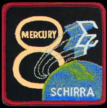 Mercury 8 Insignia