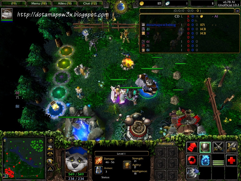 DotA c AI ve Map Download (Released)