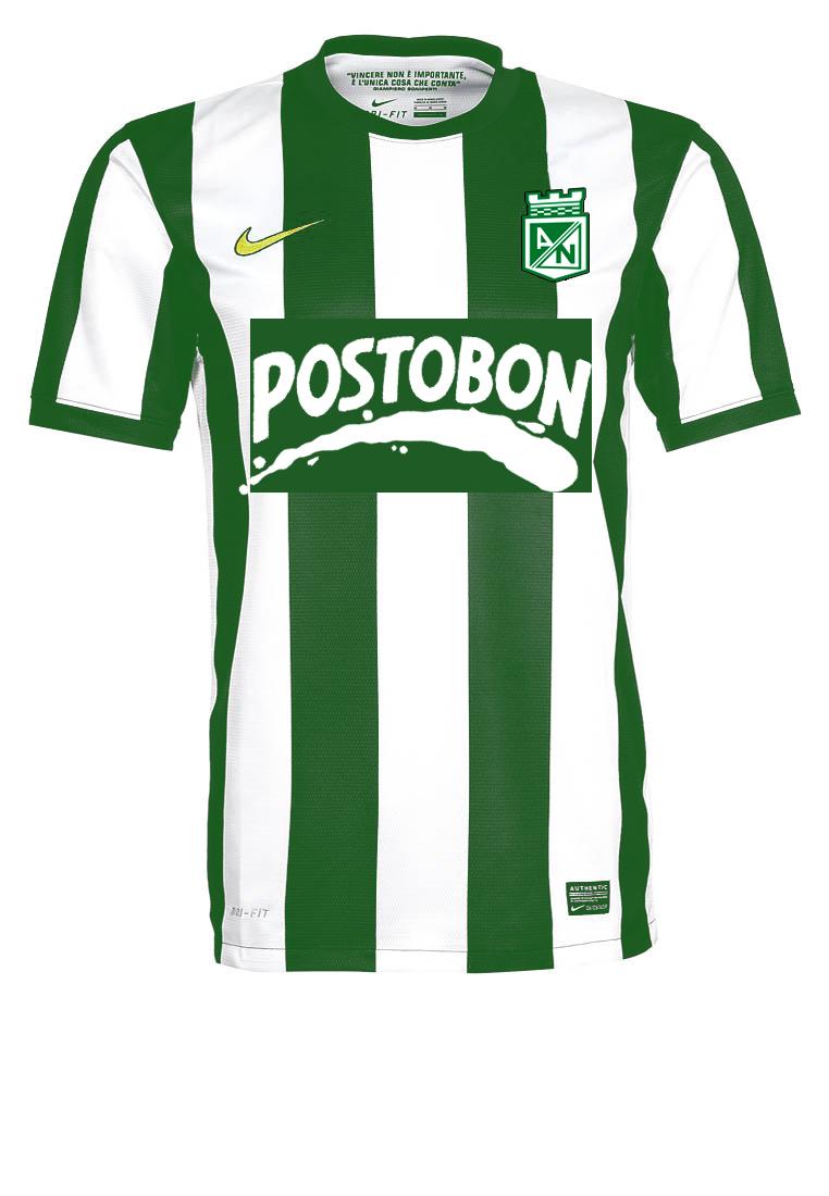 Nueva Camiseta Nike de Atlético Nacional 2013