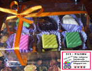 6 pcs Choc/ Rectangle Box