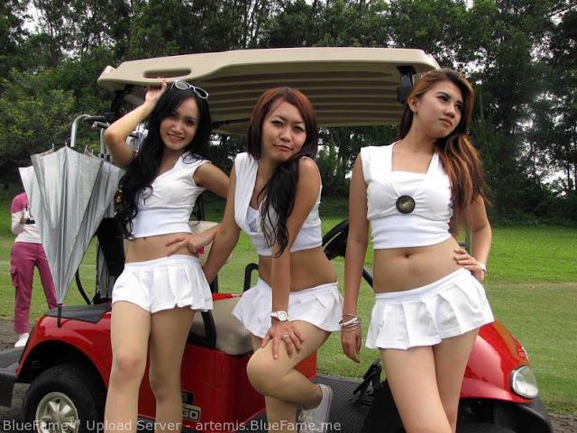 Koleksi Cewek Sexy Profesi Caddy Golf