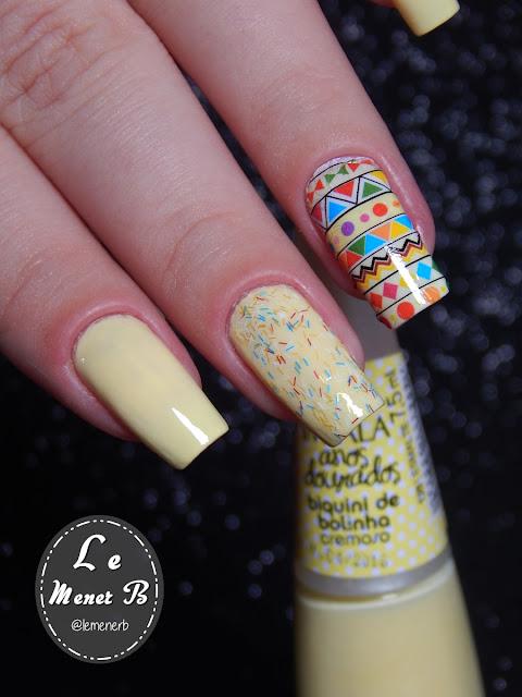 nail art étnica