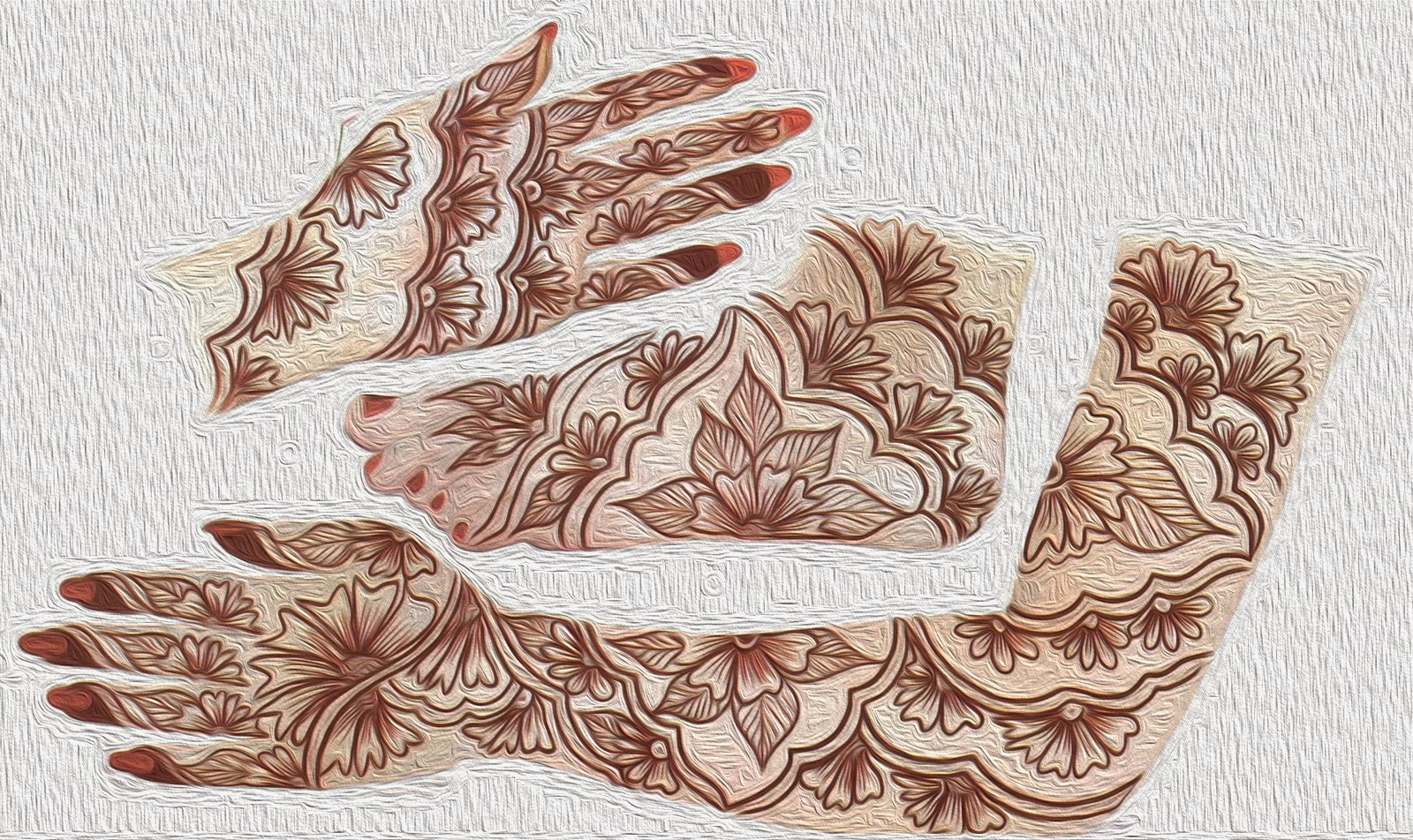 Total Designs of Mehandi for Dulhan