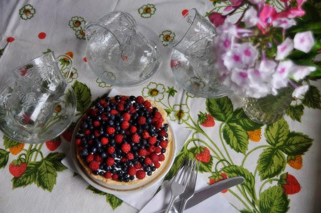 Малина и черника рецепты