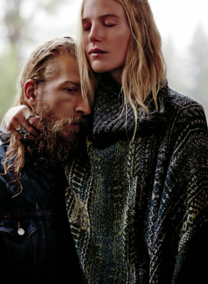 Dree Hemingway for Free People Fall/Winter 2014 Collection