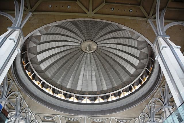 Steel Mosque Putrajaya dome