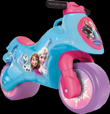 moto reine des neiges