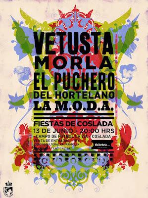 Vetusta Morla, Puchero del Hortelano, La MODA, Fiestas, Coslada, 2015, Concierto