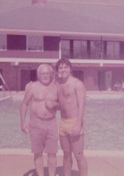 Father and Son...Summer '78