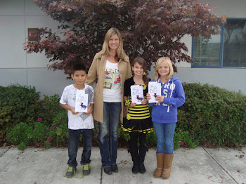 Winners of My Short Story Contest, October 2012