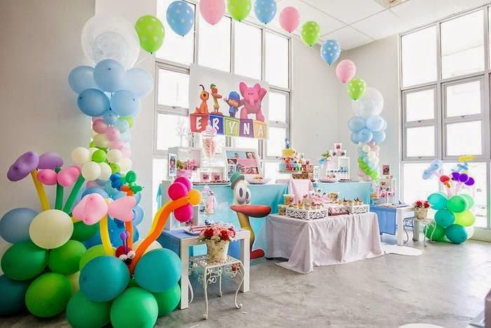 Decoración de Fiestas Infantiles de Pocoyo : Fiestas Infantiles Decora