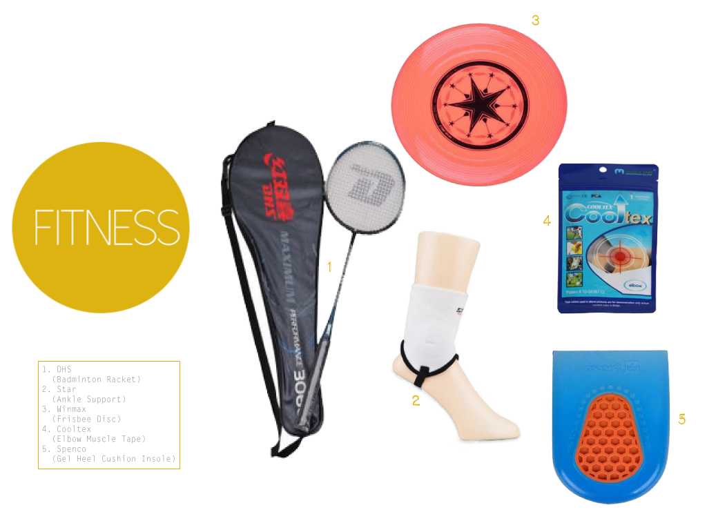 Summer Essentials For 2014, Fitness Essentials at Lazada PH,, The Belle Of A Boulevard