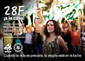 Manifestación del 28F en Sevilla ¡A la calle!