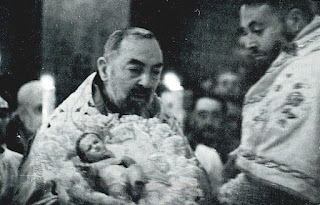 St. Padre Pio and the Infant Jesus