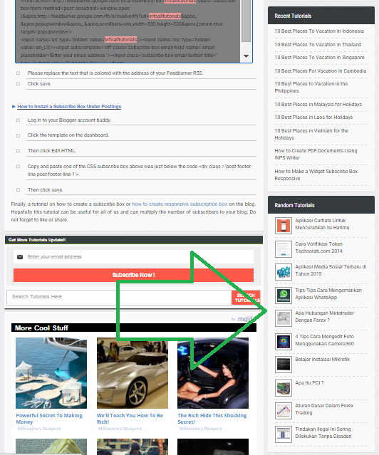 How To Set Up a Blog Widget Only Appear On Certain Parts