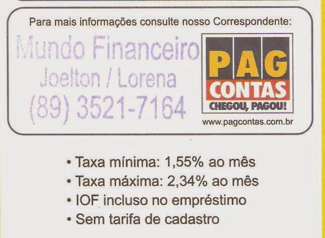 MUNDO FINANCEIRO - CRÉDITO CONSIGNADO