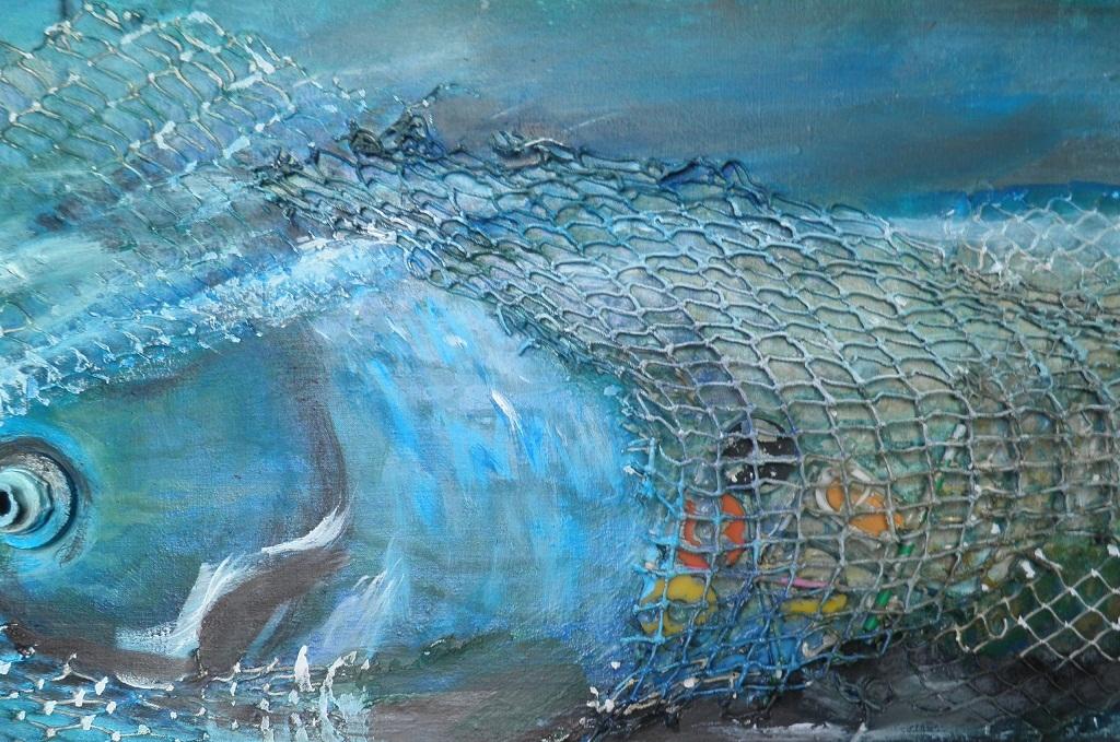 Texturas de red para tus cuadros de peces experimentar y for Cuadros de peces