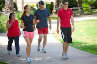 mengurangi resiko jantung koroner dengan jalan kaki