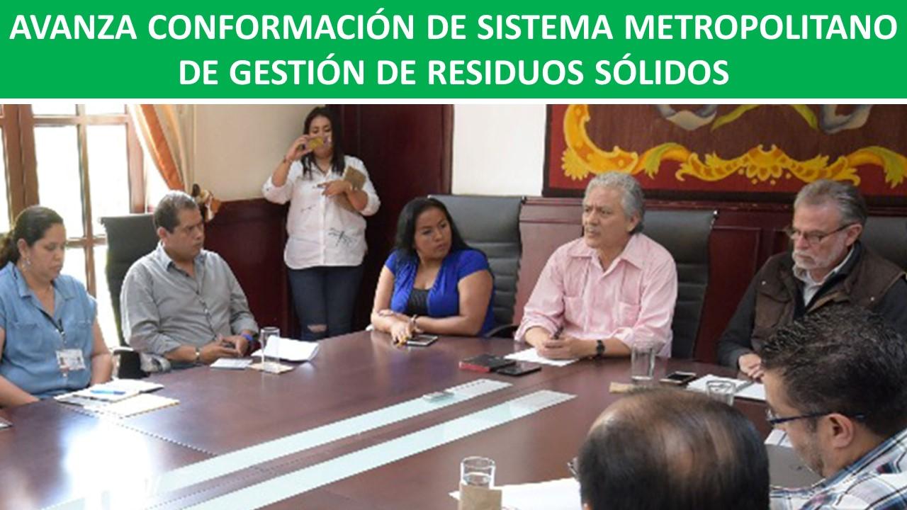 METROPOLITANO DE GESTIÓN DE RESIDUOS SÓLIDOS