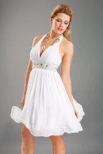 Вечерние Платья На Свадьбу Короткие Белые