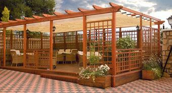 prgolas cenadores para espacios exteriores y jardines a los mejores precios solicite informacin a travs de nuestro formulario de contacto - Cenadores De Jardin