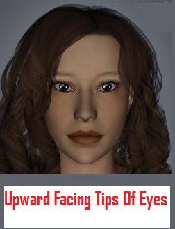 Upward Facing Eyes People