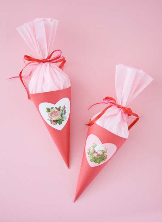 Home Of Homemade Treasures Paper Cone Tutorial