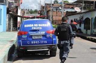 RONDA NO BAIRRO EM MANAUS: Foto Roberto Carlos (agecom)