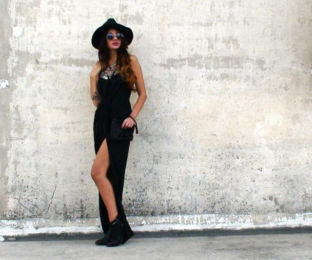 bohemian fashion outfit