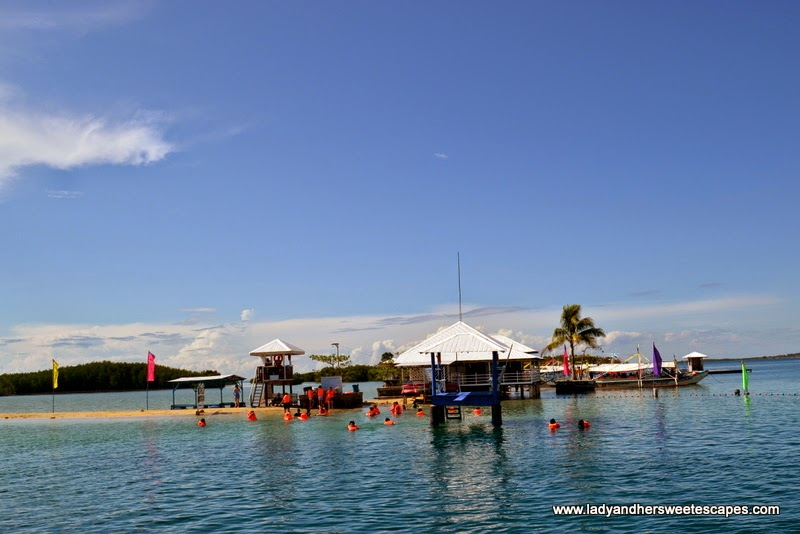 Luli Island in Honda Bay Palawan