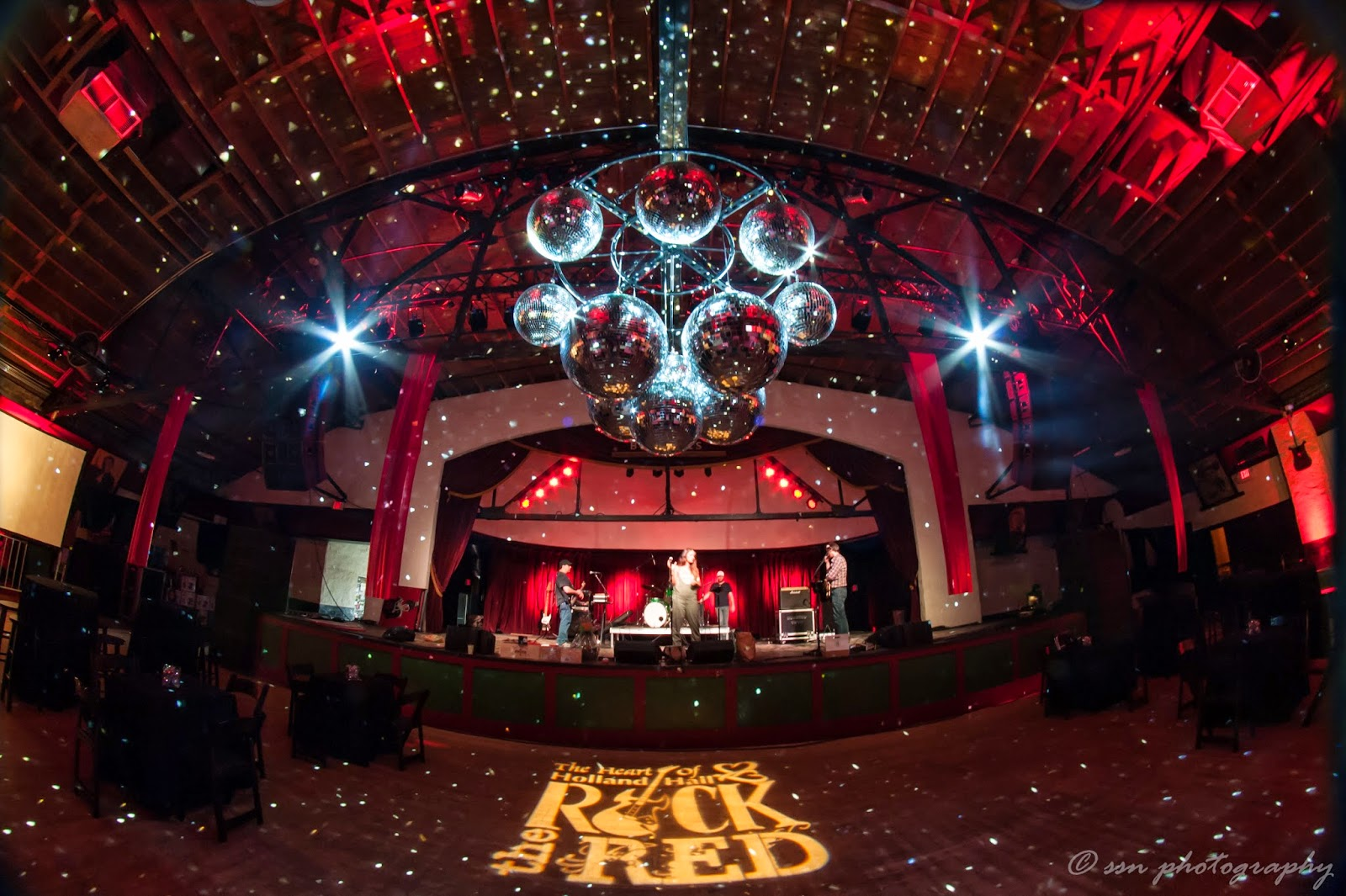 Integrity lighting inc rock the red features mirrorball chandelier the center piece on the dance floor was a custom mirrorball chandelier built by our live event team here at integrity the chandelier consisted of 13 arubaitofo Gallery