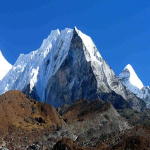 Lhotse mountain peak Beautiful Nature Images And Wallpapers