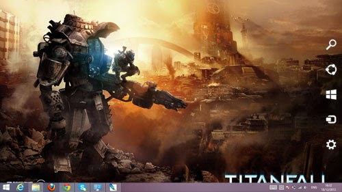Titanfall Theme For Windows 7 And 8 8.1