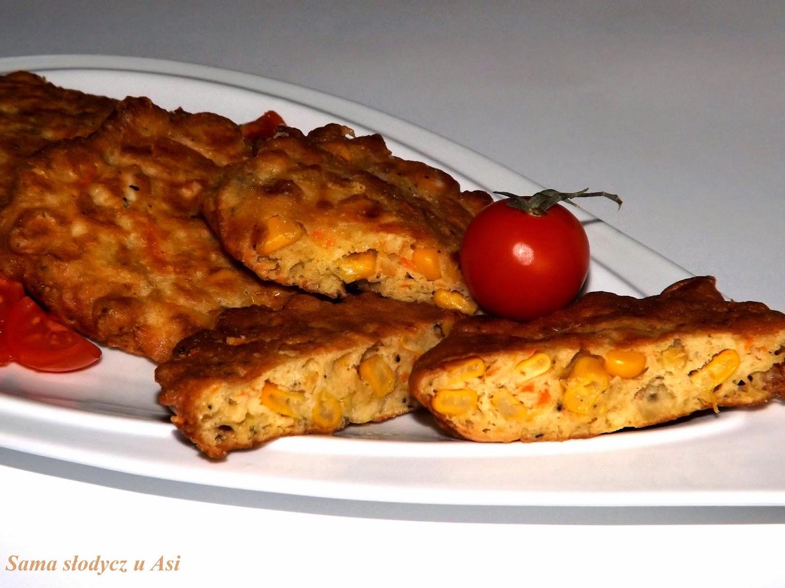 Placuszki kukurydziane z chilli