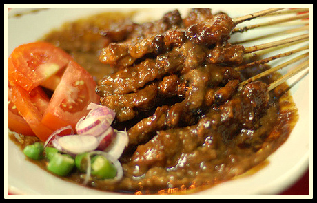 Sate Ayam Madura Makanan Tradisional Dari Madura Jawa Timur