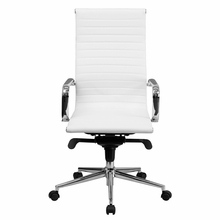 High Back White Office Chair