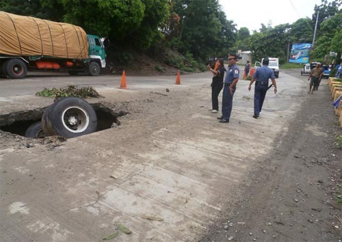 Truck accident enrile cagayan