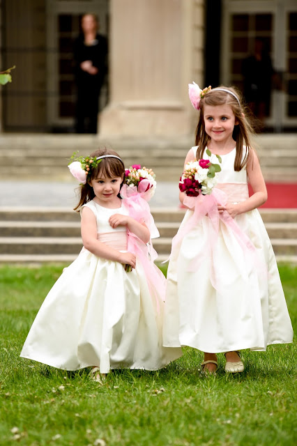 Flower Girl Wands - Hall of Springs Wedding - Upsate NY - Saratoga - Splendid Stems