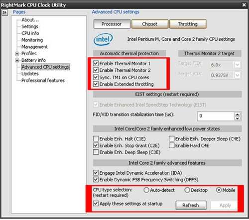 Stress Test Undervolt: Laptophacker
