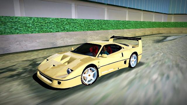 Ferrari F-40 LM GTA Vice City