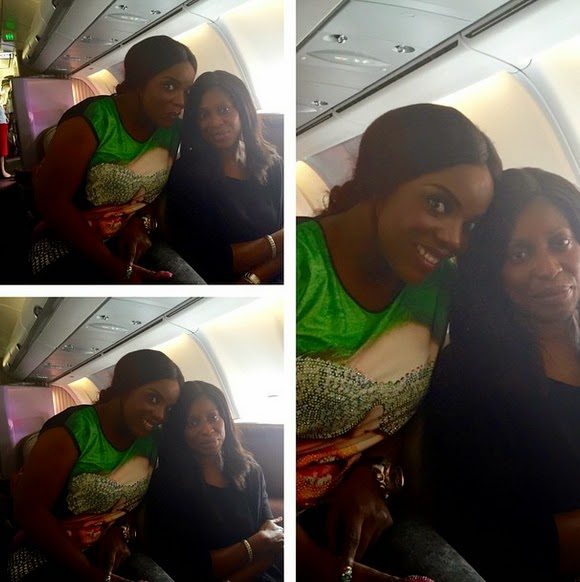 mo abudu private jet