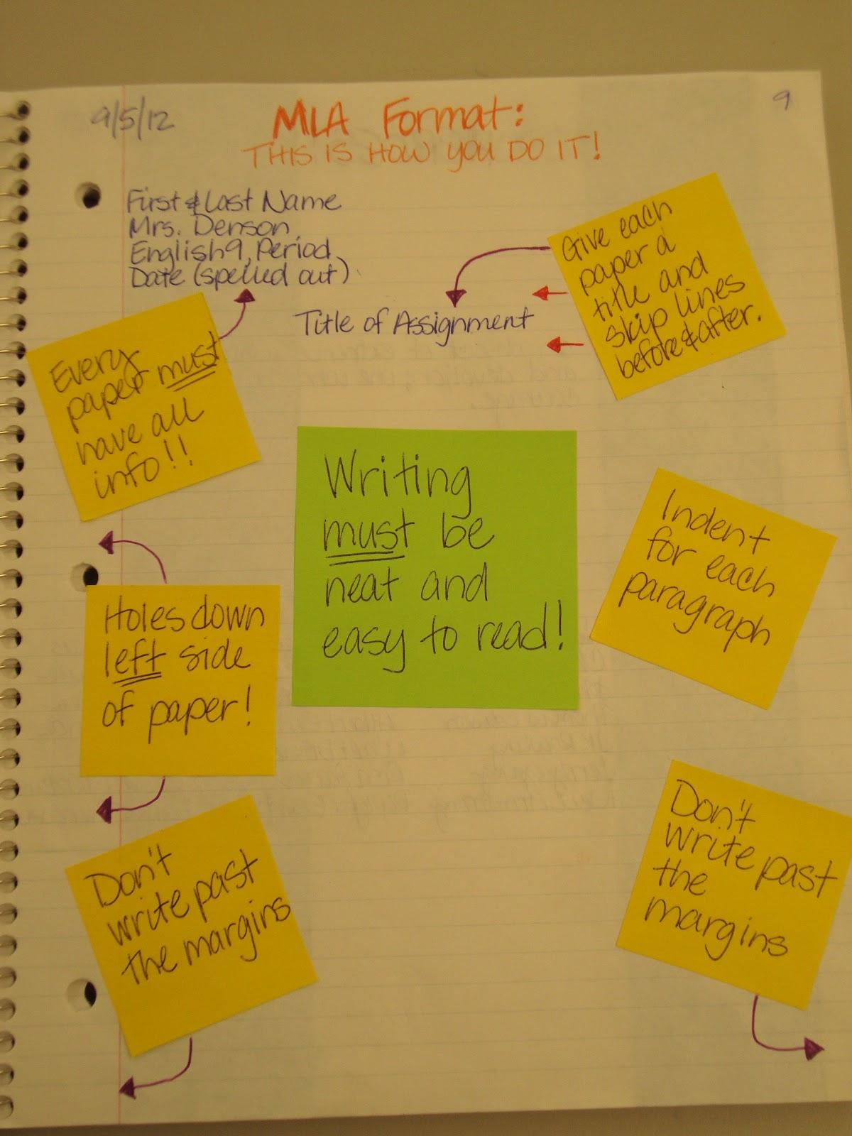 my adventures teaching junior high english mla format
