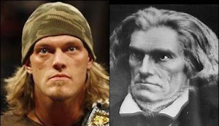 Parecidos entre famosos y personajes históricos!!