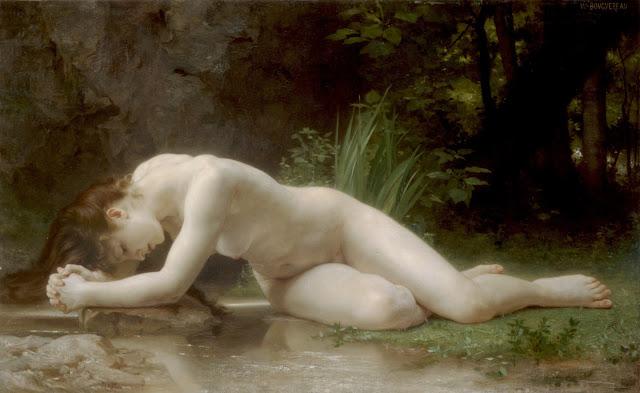 Biblis,Bouguereau,sad girl