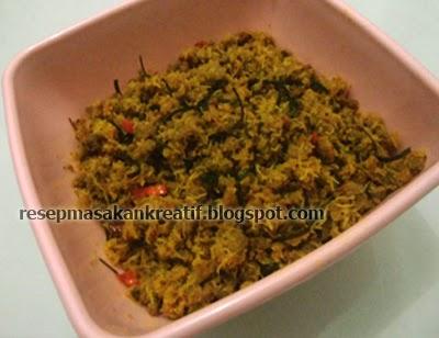 Resep Tumis Daging Giling Bumbu Kelapa