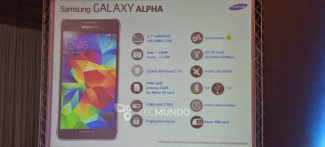 Galaxy Alpha'nın Tüm Özellikleri